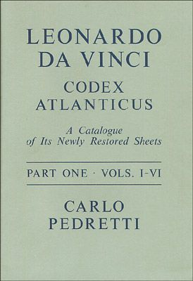 Leonardo da Vinci, Codex Atlanticus - 2 volumes
