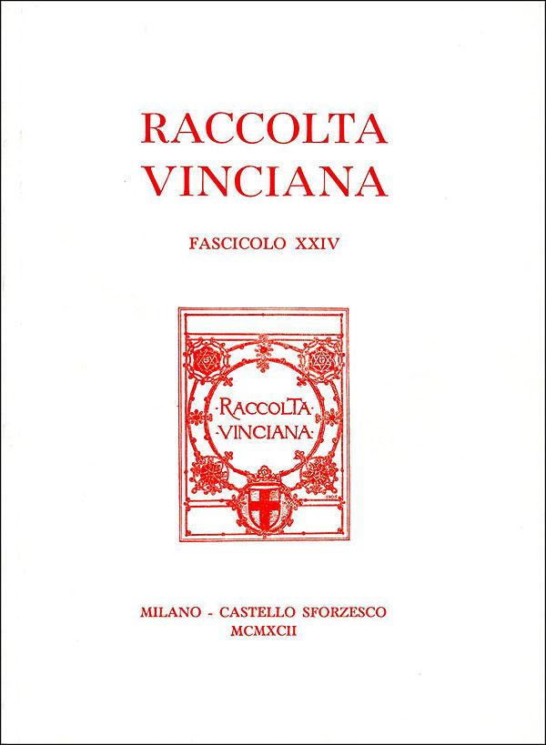 Raccolta vinciana XXIV (1992)