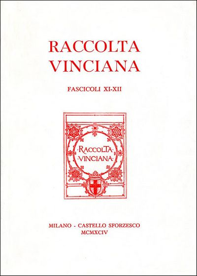 Raccolta vinciana XI-XII