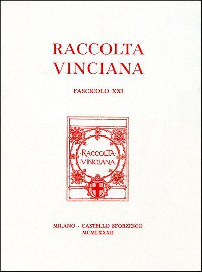 Raccolta vinciana XXI (1982)