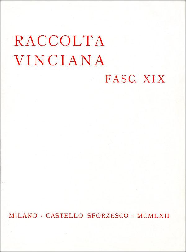 Raccolta vinciana XIX (1962)