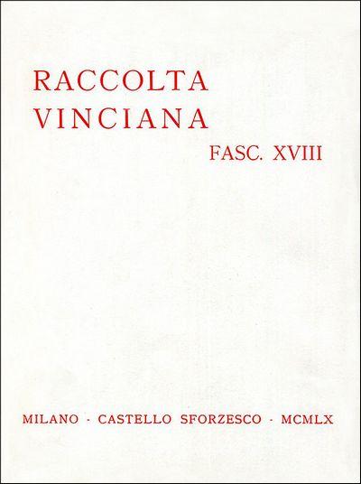 Raccolta vinciana XVIII (1960)