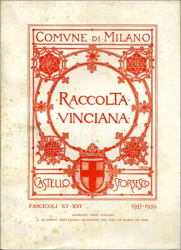 Raccolta vinciana XV-XVI (1935-1939)