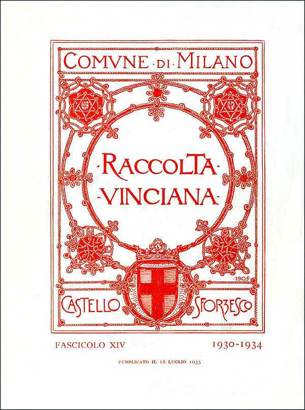 Raccolta vinciana XIV (1930-1934)