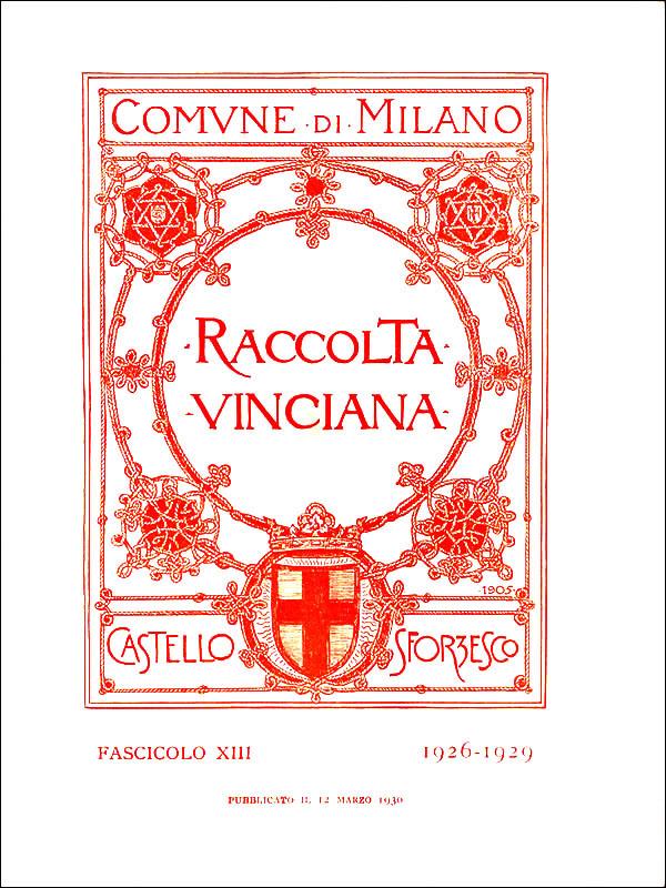 Raccolta vinciana XIII (1926-1929)