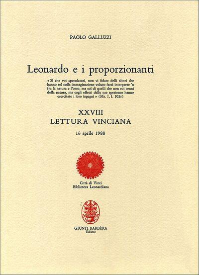 Leonardo e i proporzionanti