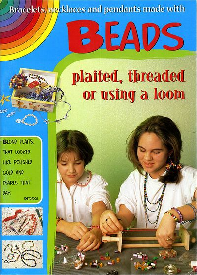 Bracelets, necklaces and pendants made with beads plaited, threated or using a loom
