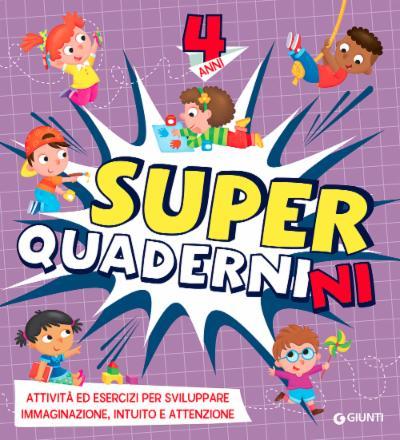 Superquadernini 4 anni