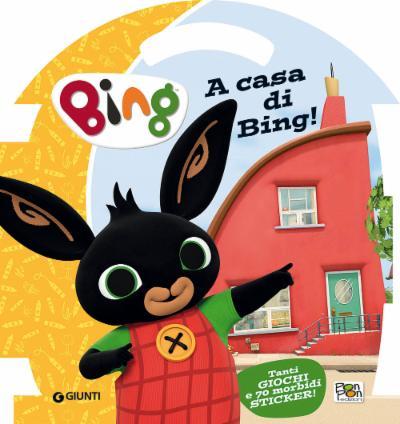 Puffy Sticker A Casa di Bing!