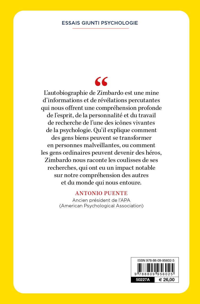Zimbardo. Ma vie révélée