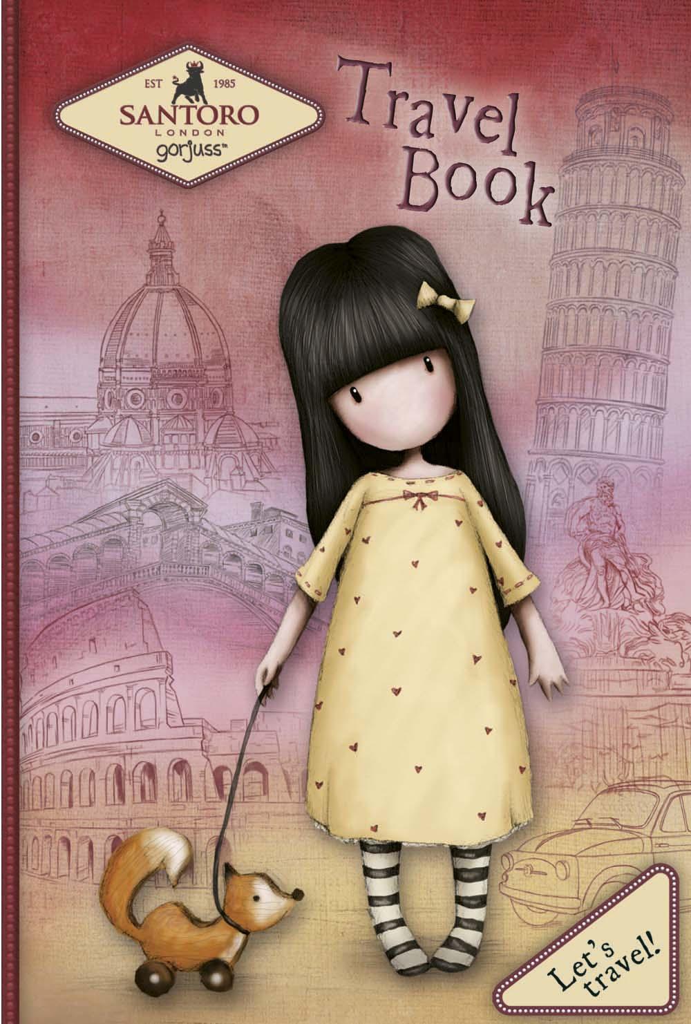 Travel Book Gorjuss Let's Travel!