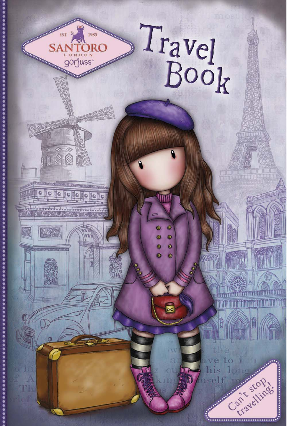 Travel Book - Can't Stop Travelling!