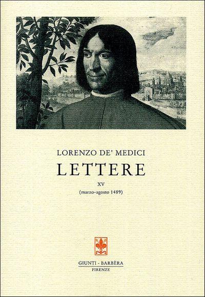Lettere XV (marzo-agosto1489)