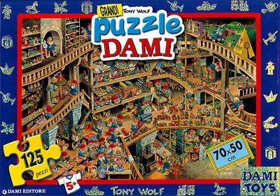 Grandi Puzzle Dami: La Fabbrica dei Giocattoli