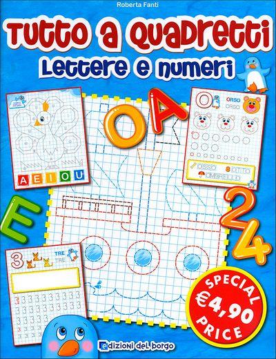 Tutto a quadretti - Lettere e numeri