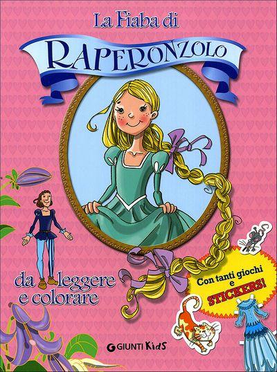 La Fiaba di Raperonzolo da leggere e colorare