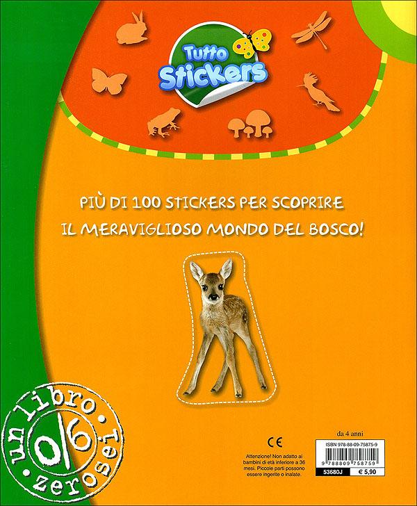 Tutto stickers. Il Bosco