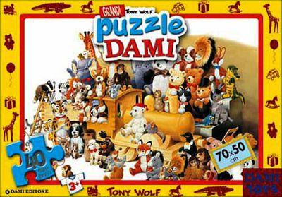 Grandi Puzzle Dami: Teneri animali