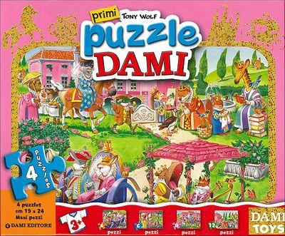 Primi Puzzle Dami: Principesse