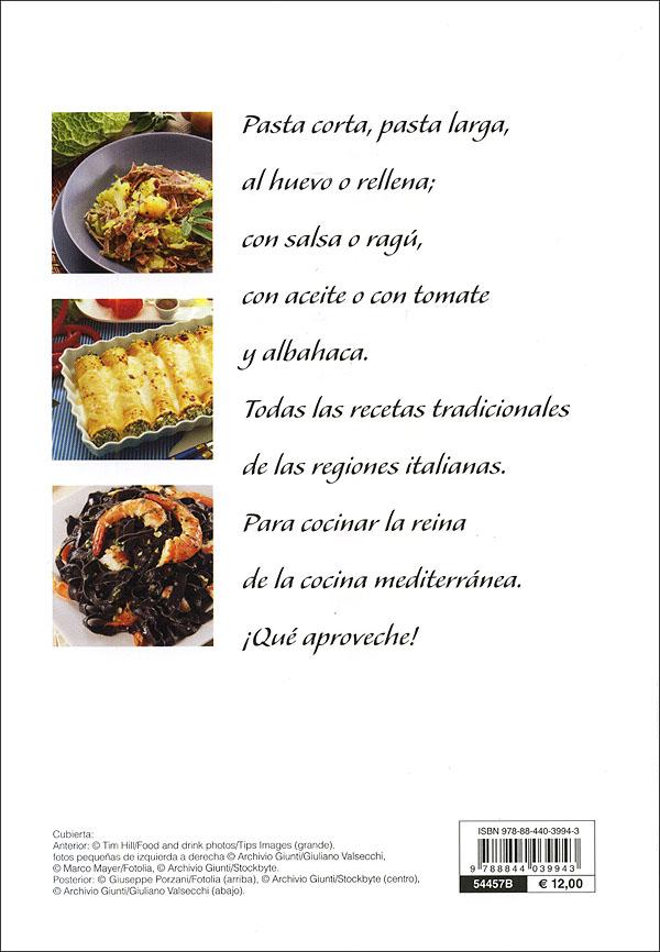 Pasta. Recetas italianas