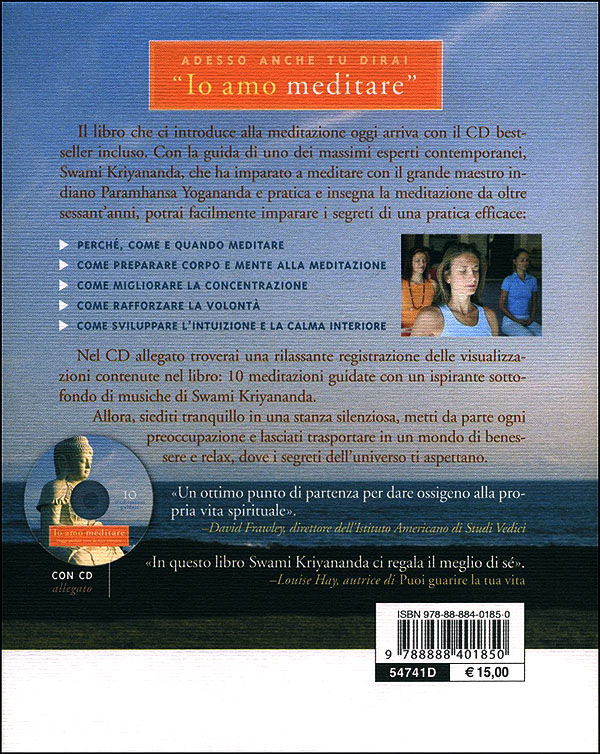 Io amo meditare + CD