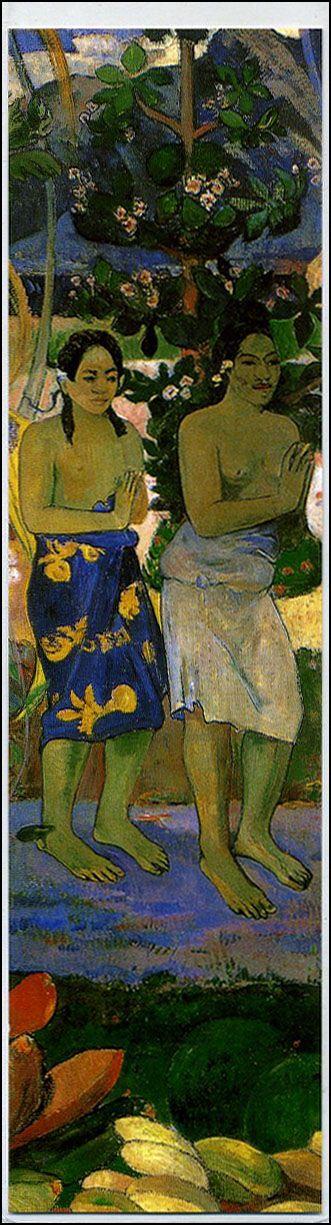 Segnalibro La orana Maria - Paul Gauguin