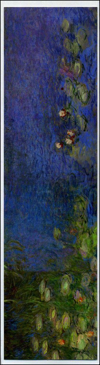 Segnalibro Ninfee - Claude Monet
