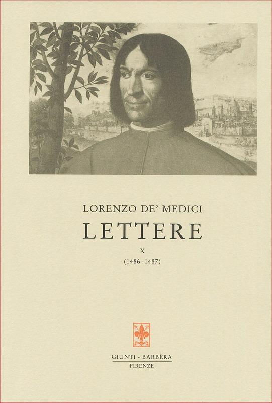 Lettere X (1486-1487)