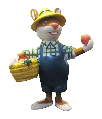 Coniglietto Agricoltore