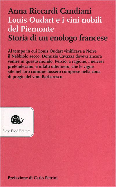 Louis Oudart e i vini nobili del Piemonte