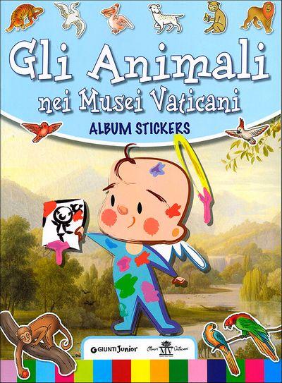 Gli animali nei Musei Vaticani - Album stickers