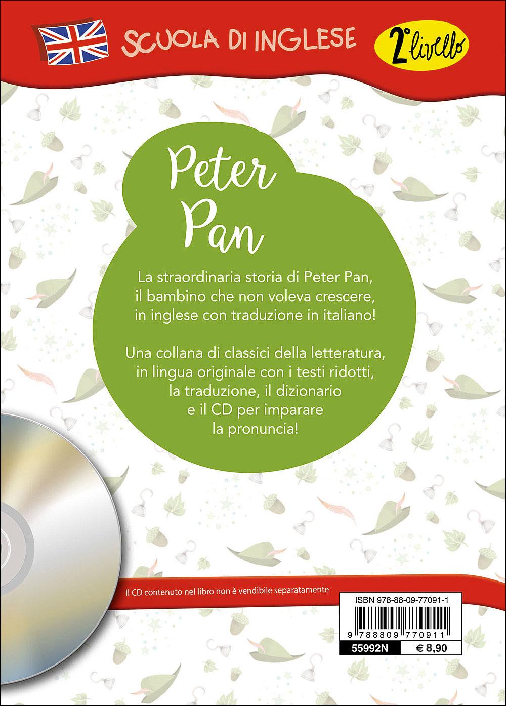 Peter Pan + CD