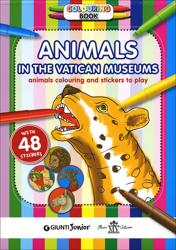 Colouring Book. Animals in the Vatican Museums