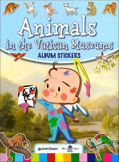 Animals in the Vatican Museums - Album stickers