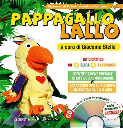 Pappagallo Lallo - Blister con 3 titoli + CD