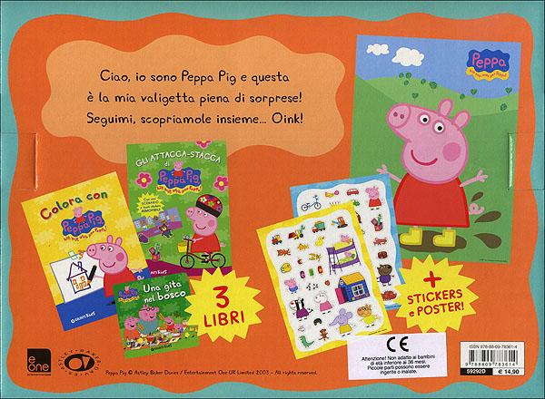 La valigetta di Peppa Pig