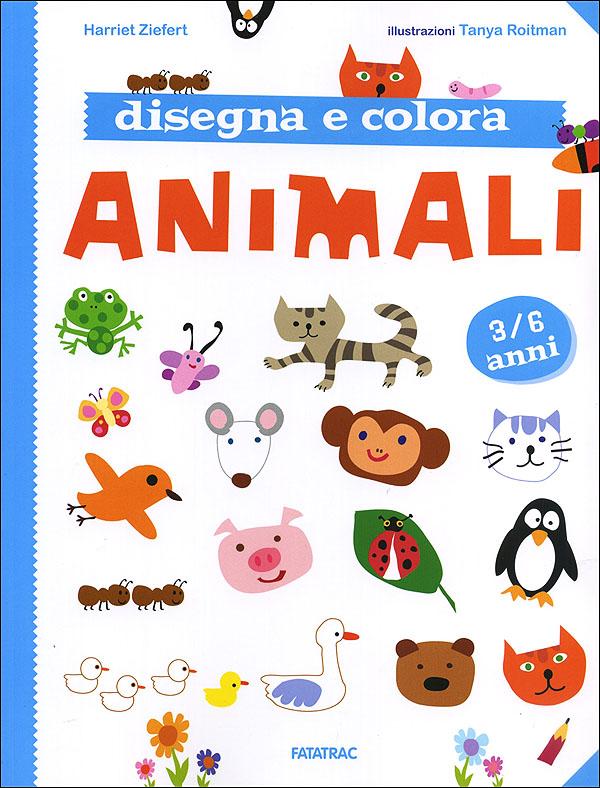 Disegna e colora Animali