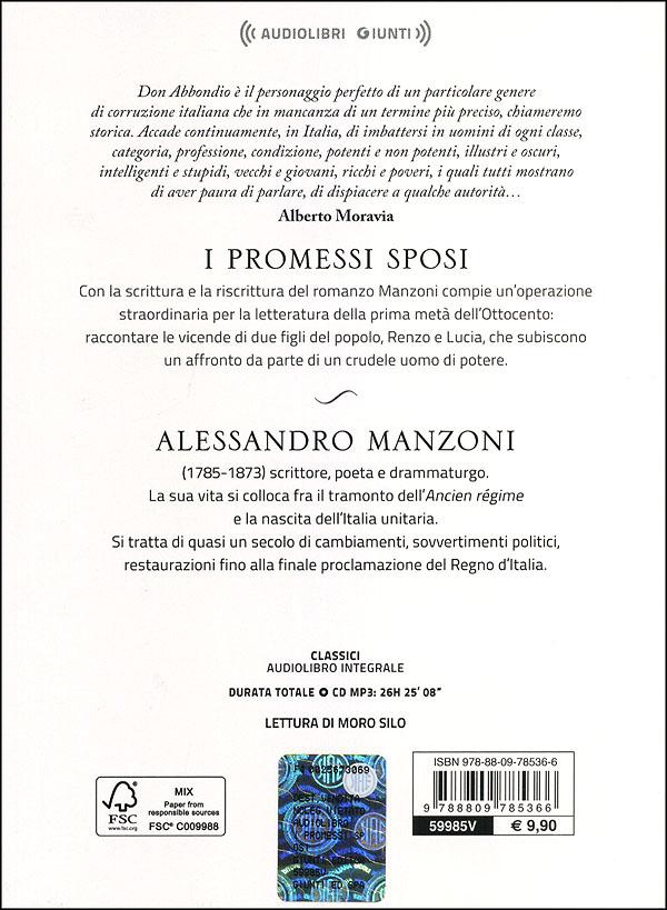 I promessi sposi + CD audio mp3