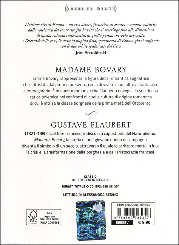 Madame Bovary + CD audio mp3