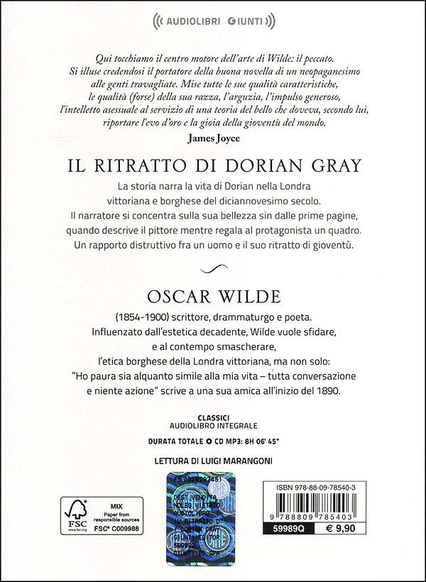 Il ritratto di Dorian Gray + CD audio mp3