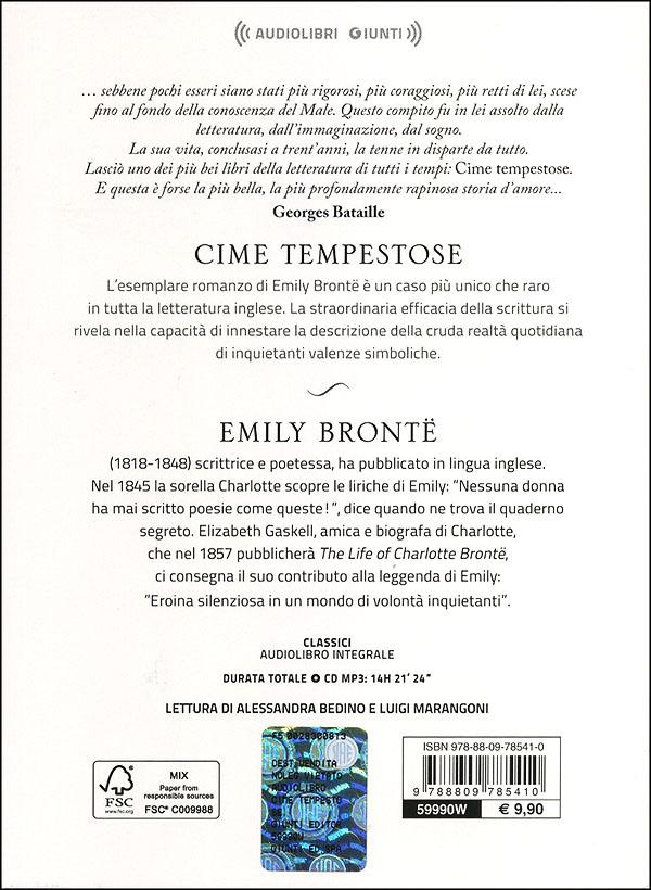 Cime tempestose + CD audio mp3