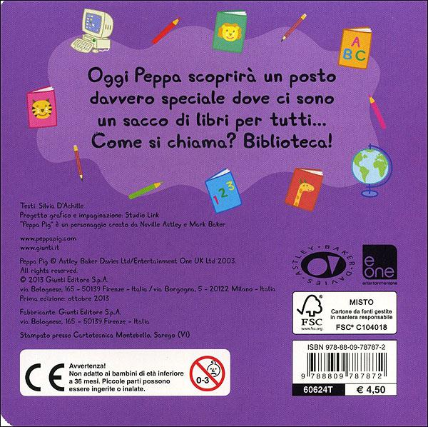 Peppa - La biblioteca