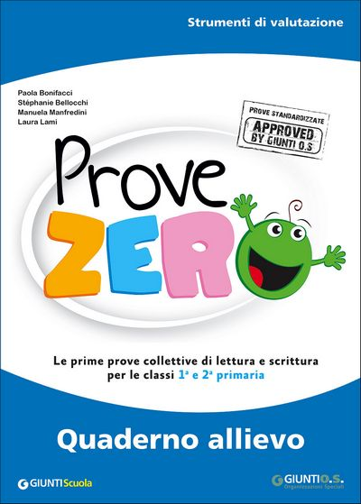 Prove Zero - Quaderno allievo