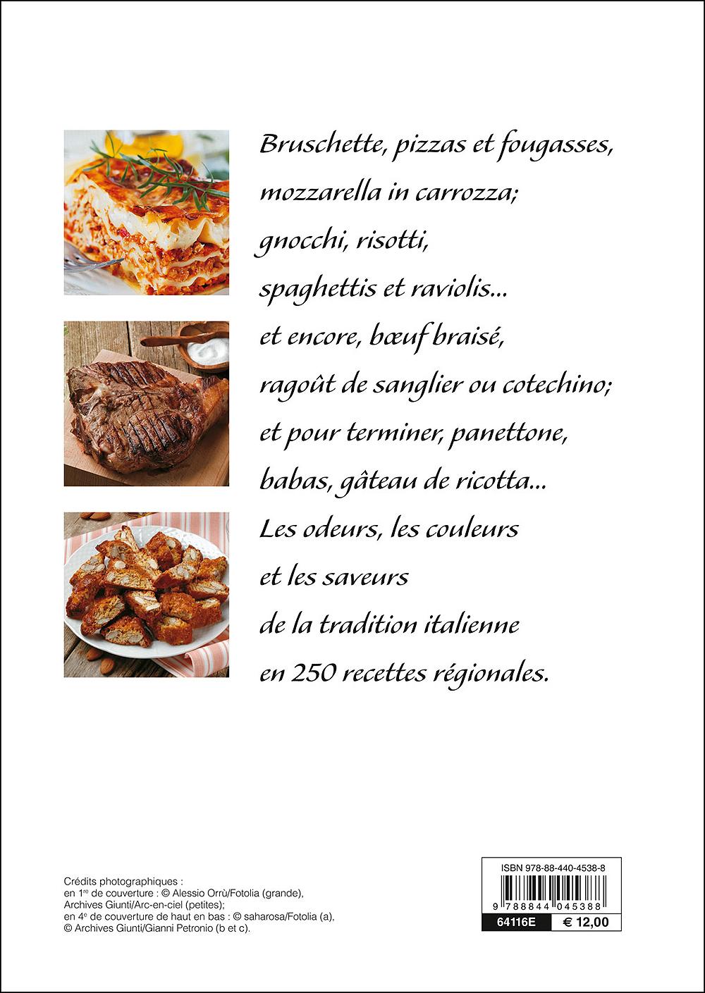 La cuisine en Italie