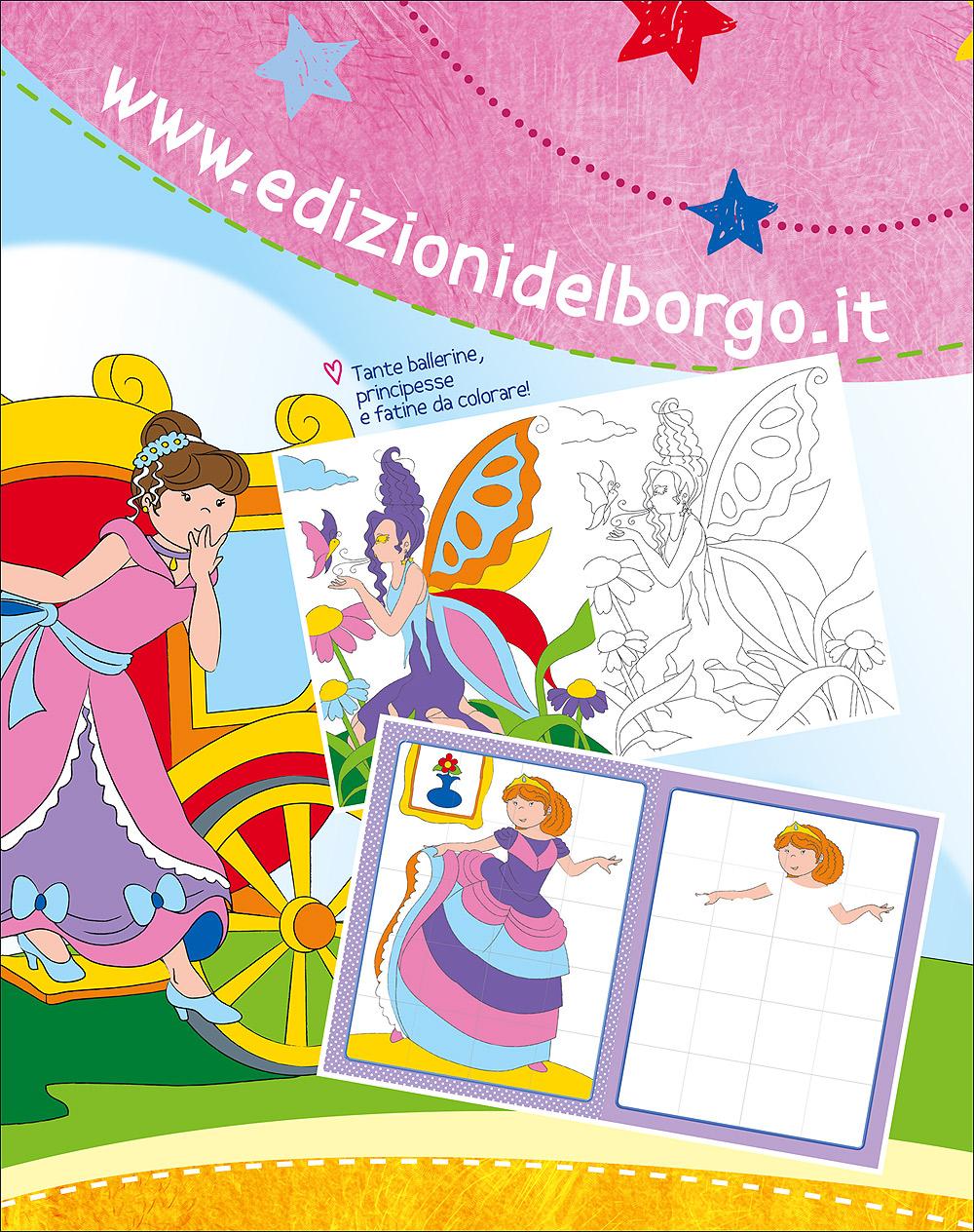 Fare giocare disegnare colorare con Fate Principesse Ballerine