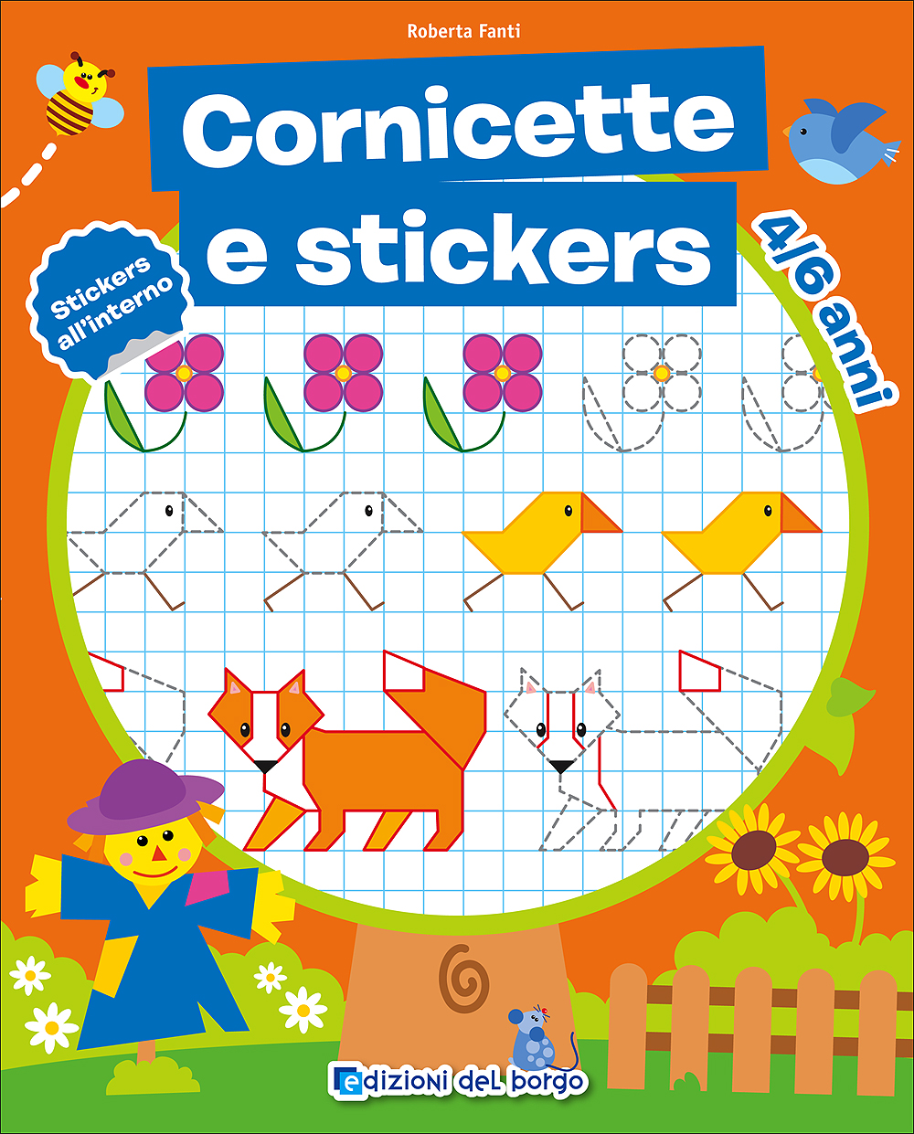 Cornicette e stickers - 4/6 anni