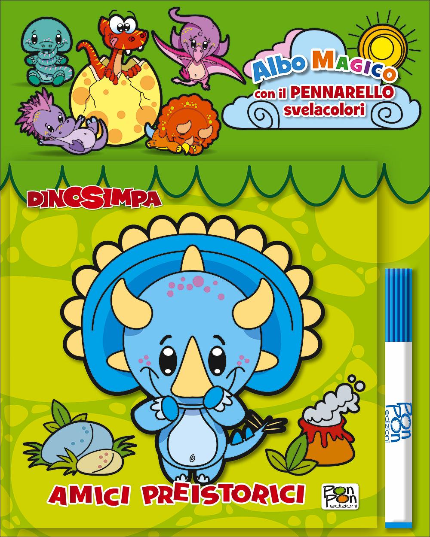Albo Magico Dinosimpa - Amici preistorici