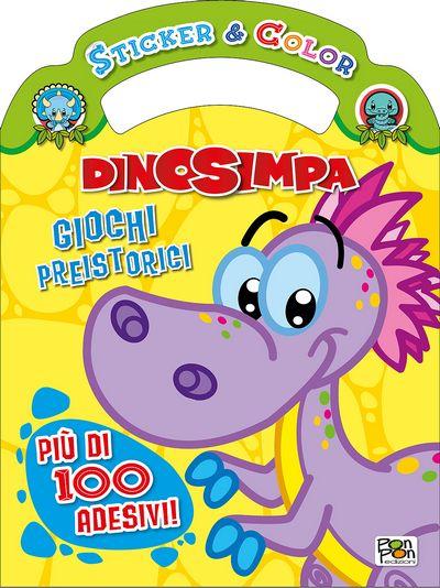 Sticker & Color Dinosimpa - Giochi preistorici