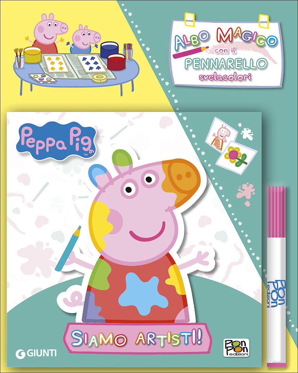 Albo Magico Peppa Pig - Siamo artisti!