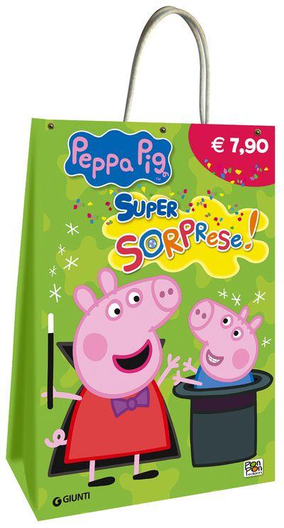 Shopper bag di Peppa Pig - Super Sorprese! (verde)